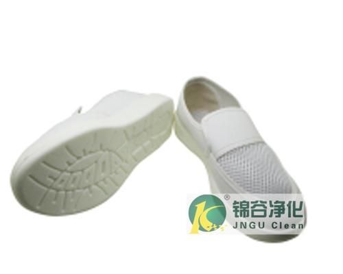 PU/PVC/SPU防静电中巾单孔网眼鞋