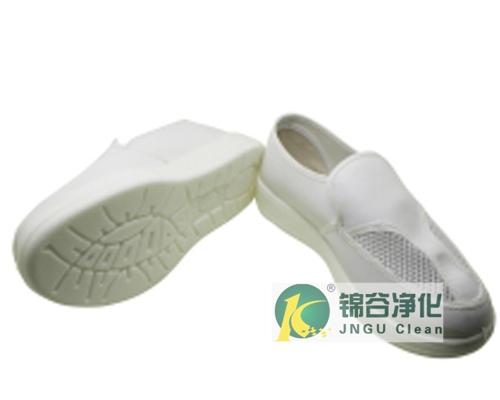 PU/PVC/SPU中巾双孔网眼鞋